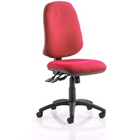 Eclipse XL III Lever Task Operator Chair - Wine