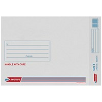 GoSecure Bubble Lined Envelope Size 8 270x360mm White (Pack of 20) PB02134