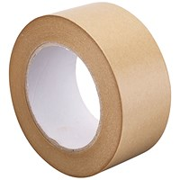 GoSecure Kraft Paper Tape 50mmx6m (Pack of 6) RY10724