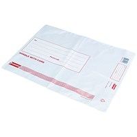 Go Secure Extra Strong Polythene Envelopes 245x320mm (Pack of 50) PB08231