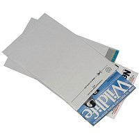 GoSecure Envelope Lightweight Polythene 460x430mm Opaque (Pack of 100) PB11128