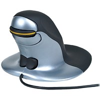 Penguin Ambidextrous Vertical Mouse Medium Wired