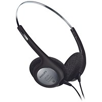 Philips Walkman Style Headphones for Desktop Dictation Equipment