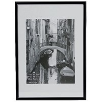Photo Backloading Certificate Frame A4 Black A4MARBLK-NG