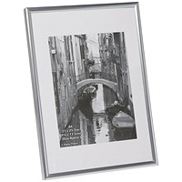 Photo Backloading Certificate Frame A4 Silver