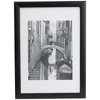 Photo Black Wood Non-Glass Frame A4