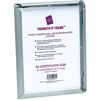 Photo Promote It Frame A2 Aluminium (Non-glass break-resistant cover)