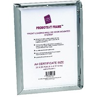 Photo Promote It Frame A1 Aluminium (Non-glass break-resistant cover)
