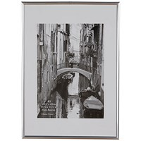 Photo Backloading Certificate Frame A3 Silver
