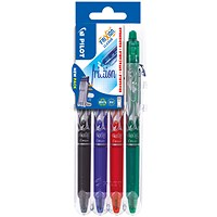 Pilot FriXion Set2Go Rollerball Click Assorted (Pack of 4)