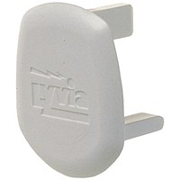 13 AMP Safety Socket Insert White (Pack of 20)
