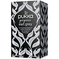 Pukka Gorgeous Earl Grey Fairtrade Tea (Pack of 20)