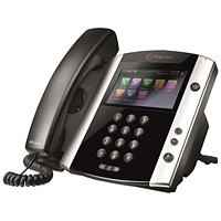 Polycom VVX 601 IP Phone 16 Line LCD Black 2200-48600-025