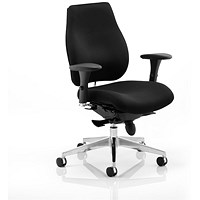 Chiro Plus Ergo Posture Chair, Black, Assembled