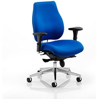Chiro Plus Ergo Posture Chair, Blue, Built