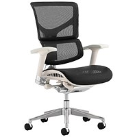 Ergo-Dynamic Posture Chair, Grey Frame, Mesh, Black, Built