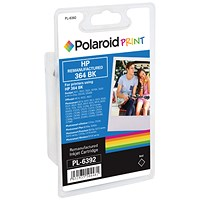 Polaroid HP 364 Black Ink Cartridge CB316EE