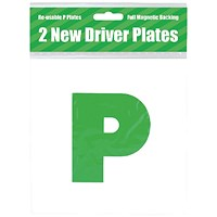 2 Magnetic P Plates (Pack of 10)