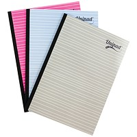 Pukka Pad Unipad Refill Pad Sidebound A4 400 Pages (Pack of 9)