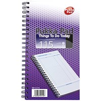 Pukka Pad Wirebound Things to Do Today Book 152x280mm
