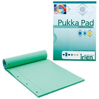 Pukka Pad A4 Refill Pad Green (Pack of 6) IRLEN50