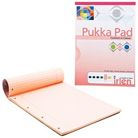 Pukka Pad A4 Refill Pad Rose (Pack of 6) IRLEN50