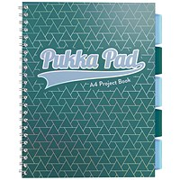Pukka Glee Project Book Green A4 (Pack of 3)