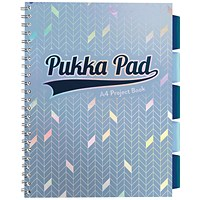 Pukka Glee Project Book Light Blue (Pack of 3)