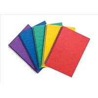 Pukka Notemakers Sidebound A4 Assorted (Pack of 10)