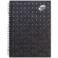 Pukka Notemakers Sidebound A5 Black (Pack of 10)