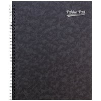 Pukka Notemakers Sidebound A4 Black (Pack of 10)
