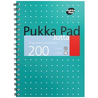 Pukka Pad Metallic Cover Wirebound Jotta Notebook B5 (Pack of 3)