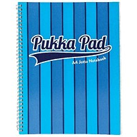 Pukka Pad Vogue Wirebound Jotta Pad A4 Blue (Pack of 3)