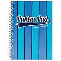 Pukka Pad Vogue Wirebound Jotta Pad A5 Blue (Pack of 3)