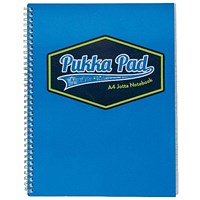 Pukka Pad Vision Wirebound Jotta Pad A4 Blue (Pack of 3)