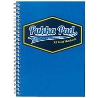 Pukka Pad Vision Wirebound Jotta Pad A5 Blue (Pack of 3)