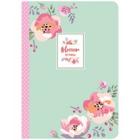 Pukka Pad Blossom Stitched Exercise Book A5 (Pack of 3) 86520-BLO