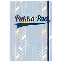 Pukka Pad Glee Journal Pad A5 Light Blue (Pack of 3)