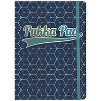 Pukka Pad Glee Journal Pad A5 Dark Blue (Pack of 3)