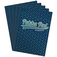 Pukka Glee Refill Pad A4 Dark Blue (Pack of 5)
