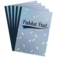 Pukka Glee Refill Pad A4 Light Blue (Pack of 5)