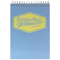 Pukka Pad Pastel Reporters Pad 140x205 (Pack of 3)