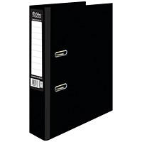 Pukka Brights Lever Arch File A4 Black (Pack of 10)