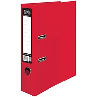 Pukka Brights Lever Arch File A4 Red (Pack of 10)