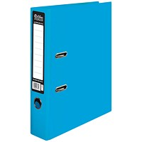 Pukka Brights Lever Arch File A4 Blue (Pack of 10)