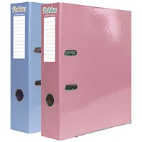 Pukka Pad Pastel Lever Arch File Blue/Pink (Pack of 10)