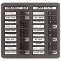 Indesign 20 Names In/Out Board Grey
