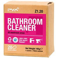 PVA Bathroom Cleaner Sachets (Pack of 20)