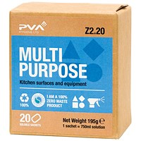 PVA Multipurpose Cleaner Sachets (Pack of 20)