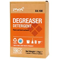 PVA Degreaser Detergent Sachets (Pack of 100) PVAA4-100